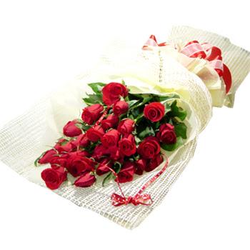 Çiçek gönderme 13 adet kirmizi gül buketi  İzmit 14 şubat sevgililer günü çiçek