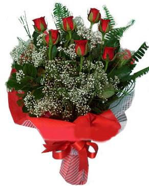 7 kırmızı gül buketi  İzmit ucuz çiçek gönder