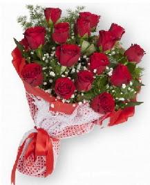 11 kırmızı gülden buket  İzmit çiçek siparişi sitesi