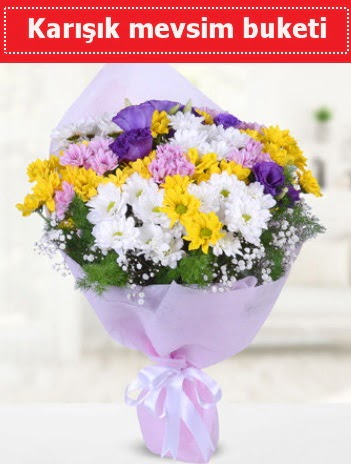 Karışık Kır Çiçeği Buketi  İzmit çiçek siparişi sitesi