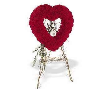 İzmit kaliteli taze ve ucuz çiçekler  karanfillerden kalp pano