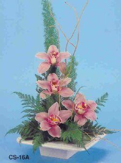 İzmit uluslararası çiçek gönderme  vazoda 4 adet orkide