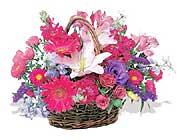 küçük karisik özel sepet   İzmit çiçek , çiçekçi , çiçekçilik