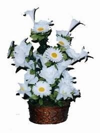 yapay karisik çiçek sepeti  İzmit online çiçekçi , çiçek siparişi