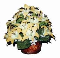 yapay karisik çiçek sepeti   İzmit çiçek mağazası , çiçekçi adresleri