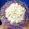 71 adet beyaz gül buketi   İzmit anneler günü çiçek yolla