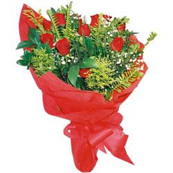 11 adet gül buketi sade ve görsel  İzmit çiçek gönderme sitemiz güvenlidir
