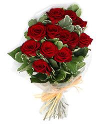 İzmit internetten çiçek siparişi  9 lu kirmizi gül buketi.