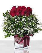 İzmit anneler günü çiçek yolla  11 adet gül mika yada cam - anneler günü seçimi -