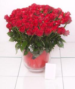 İzmit İnternetten çiçek siparişi  101 adet kirmizi gül