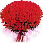 İzmit çiçekçiler  1001 adet kirmizi gülden çiçek tanzimi
