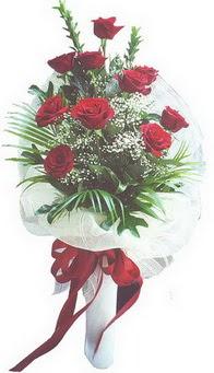 İzmit çiçek online çiçek siparişi  10 adet kirmizi gülden buket tanzimi özel anlara