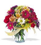 İzmit anneler günü çiçek yolla  cam yada mika vazo içerisinde karisik kir çiçekleri