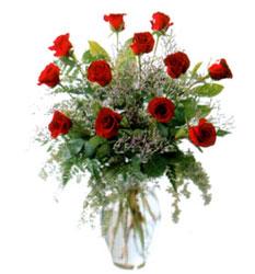 Vazo içerisinde 11 kirmizi gül  İzmit online çiçekçi , çiçek siparişi