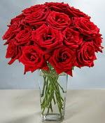 İzmit çiçek mağazası , çiçekçi adresleri  Sevdiklerinize özel ürün 12 adet cam içerisinde kirmizi gül  İzmit çiçek online çiçek siparişi