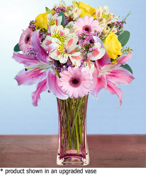 Anneme hediye karisik cam mevsim demeti  İzmit yurtiçi ve yurtdışı çiçek siparişi