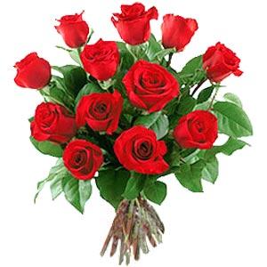 11 adet bakara kirmizi gül buketi  İzmit çiçek siparişi sitesi