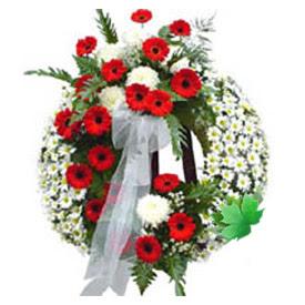 Cenaze çelengi cenaze çiçek modeli  İzmit çiçek yolla