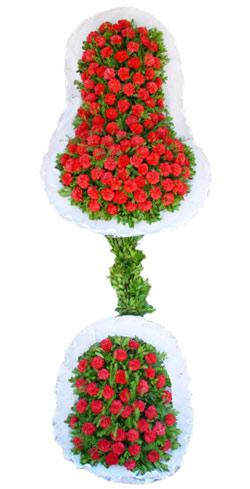 Dügün nikah açilis çiçekleri sepet modeli  İzmit İnternetten çiçek siparişi