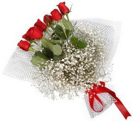 7 adet essiz kalitede kirmizi gül buketi  İzmit çiçek satışı