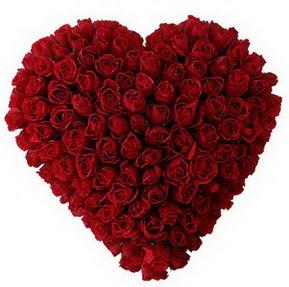 İzmit çiçek servisi , çiçekçi adresleri  muhteşem kırmızı güllerden kalp çiçeği
