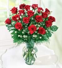 İzmit kaliteli taze ve ucuz çiçekler  9 adet mika yada vazoda kirmizi güller