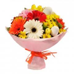 Karışık mevsim buketi Mevsimsel çiçek  İzmit yurtiçi ve yurtdışı çiçek siparişi