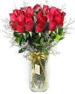 27 adet vazo içerisinde kırmızı gül  İzmit çiçek siparişi vermek