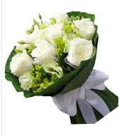 9 adet beyaz gül buketi  İzmit çiçek mağazası , çiçekçi adresleri