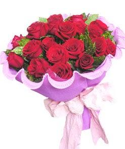 12 adet kırmızı gülden görsel buket  İzmit çiçek servisi , çiçekçi adresleri