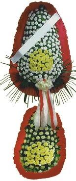 Çift katlı düğün açılış çiçeği  İzmit ucuz çiçek gönder