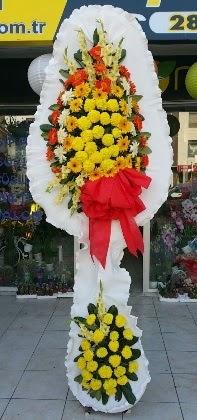 Çift katlı düğün nikah açılış çiçeği  İzmit çiçek siparişi sitesi