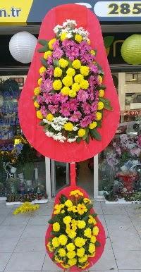 Çift katlı düğün nikah açılış çiçek modeli  İzmit çiçek yolla , çiçek gönder , çiçekçi