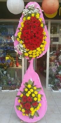 Çift katlı düğün nikah açılış çiçek modeli  İzmit güvenli kaliteli hızlı çiçek