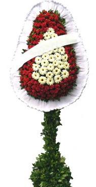 Çift katlı düğün nikah açılış çiçek modeli  İzmit çiçek siparişi vermek