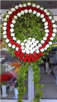 Cenaze çelenk çiçeği modeli  İzmit çiçekçi telefonları