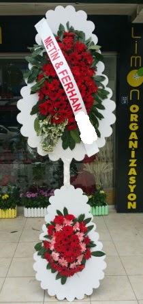 Çift katlı düğün nikah çiçeği modeli  İzmit çiçek mağazası , çiçekçi adresleri