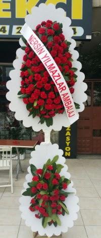Çift katlı düğün nikah çiçeği modeli  İzmit çiçek online çiçek siparişi