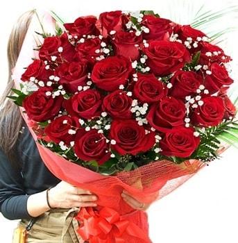 Kız isteme çiçeği buketi 33 adet kırmızı gül  İzmit online çiçek gönderme sipariş