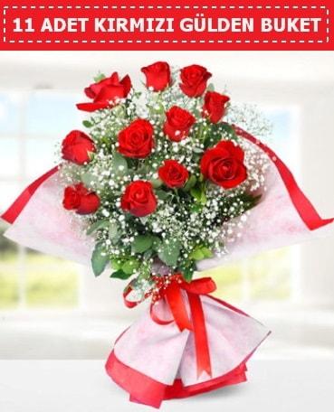 11 Adet Kırmızı Gül Buketi  İzmit yurtiçi ve yurtdışı çiçek siparişi