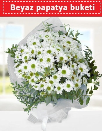 Beyaz Papatya Buketi  İzmit çiçek gönderme