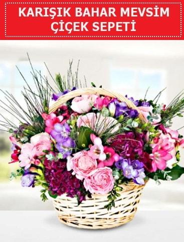 Karışık mevsim bahar çiçekleri  İzmit hediye sevgilime hediye çiçek