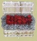 İzmit çiçek gönderme sitemiz güvenlidir  Sandikta 11 adet güller - sevdiklerinize en ideal seçim